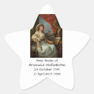 Anna Amalia of Brunswick-Wolfenbuttel 1788 Star Sticker