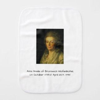 Anna Amalia of Brunswick-Wolfenbuttel 1795 Burp Cloth