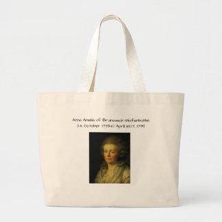 Anna Amalia of Brunswick-Wolfenbuttel 1795 Large Tote Bag