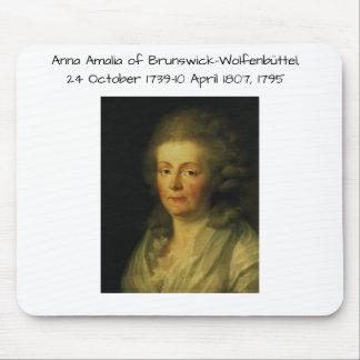 Anna Amalia of Brunswick-Wolfenbuttel 1795 Mouse Pad