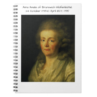 Anna Amalia of Brunswick-Wolfenbuttel 1795 Notebook