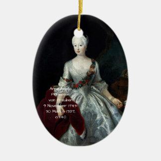Anna Amalia Prinzessin von Preuben c1740 Ceramic Ornament
