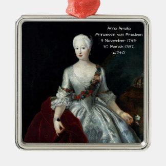 Anna Amalia Prinzessin von Preuben c1740 Metal Ornament