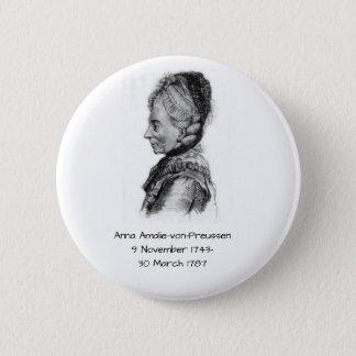 Anna amalie von Preussen 2 Inch Round Button