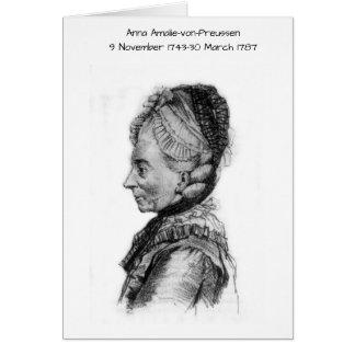 Anna amalie von Preussen Card