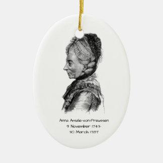 Anna amalie von Preussen Ceramic Ornament