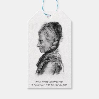Anna amalie von Preussen Gift Tags