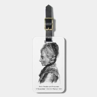 Anna amalie von Preussen Luggage Tag