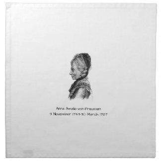 Anna amalie von Preussen Napkin