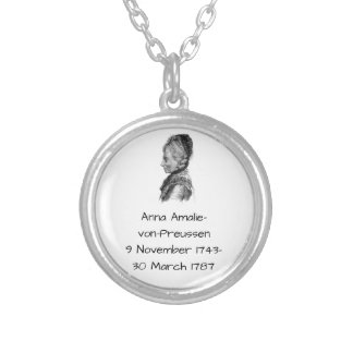 Anna amalie von Preussen Silver Plated Necklace