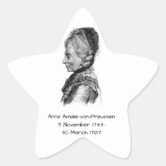 Anna amalie von Preussen Star Sticker