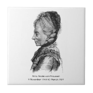 Anna amalie von Preussen Tile