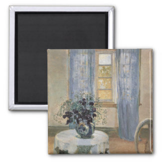 Anna Ancher's Blue Clematis in the Artist's Studio Magnet