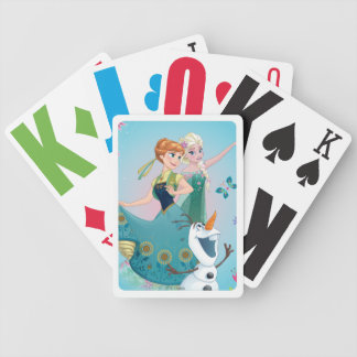 Anna and Elsa | Celebrate Sisterhood Poker Deck