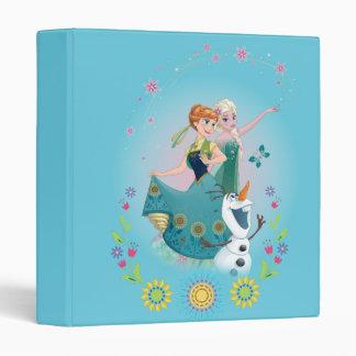 Anna and Elsa | Celebrate Sisterhood Vinyl Binder