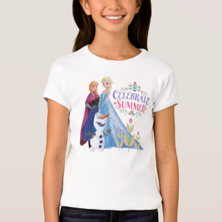 Anna and Elsa | Celebrate Summer Tshirt