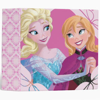 Anna and Elsa   Family Forever 3 Ring Binder