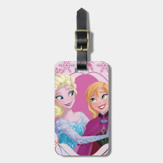 Anna and Elsa   Family Forever Luggage Tag