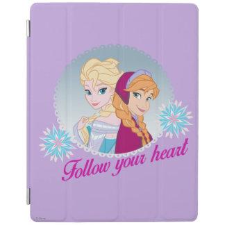 Anna and Elsa | Follow Your Heart iPad Cover