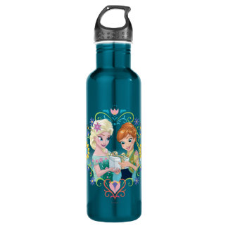 Anna and Elsa | Gift for Sister 710 Ml Water Bottle
