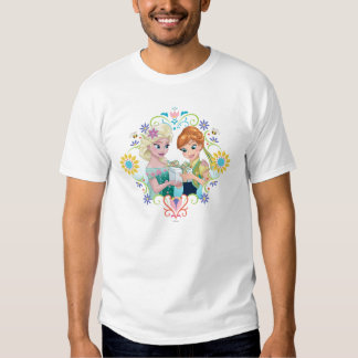 Anna and Elsa | Gift for Sister T-shirts