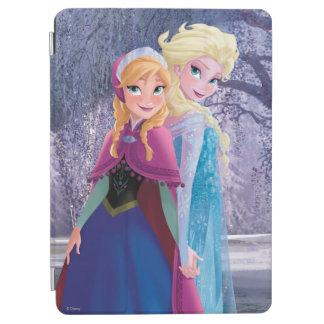 Anna and Elsa | Holding Hands iPad Air Cover
