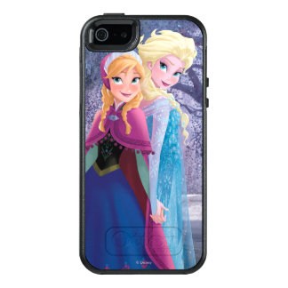 Anna and Elsa | Holding Hands OtterBox iPhone 5/5s/SE Case