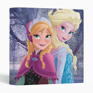 Anna and Elsa | Holding Hands Vinyl Binder