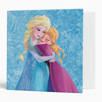 Anna and Elsa | Hugging Binder