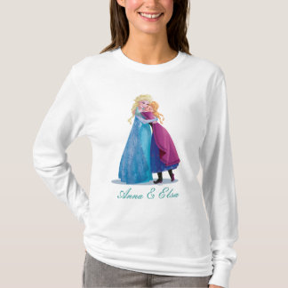 Anna and Elsa | Hugging T-Shirt