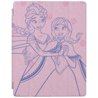 Anna and Elsa | I Love My Sister iPad Cover