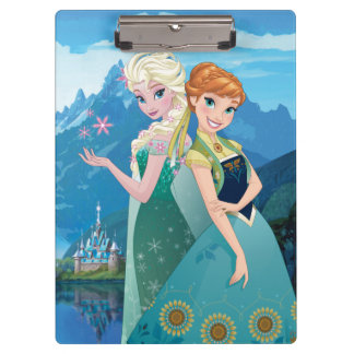 Anna and Elsa | My Sister Loves Me Clipboard