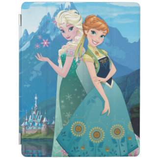 Anna and Elsa | My Sister Loves Me iPad Cover