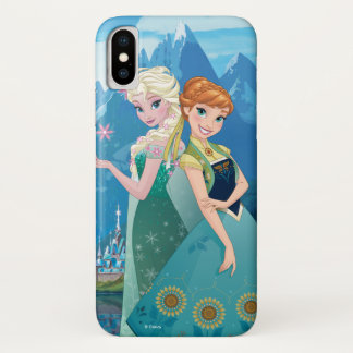 Anna and Elsa | My Sister Loves Me iPhone X Case