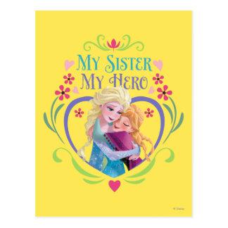 Anna and Elsa | My Sister My Hero Postcard