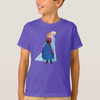 Anna and Elsa - Sisters are Magic T-shirts