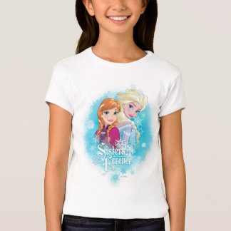 Anna and Elsa   Sisters Forever T-Shirt