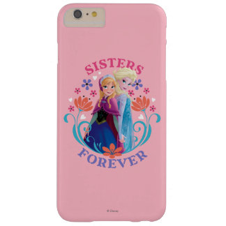 Anna and Elsa | Sisters with Flowers Barely There iPhone 6 Plus Case