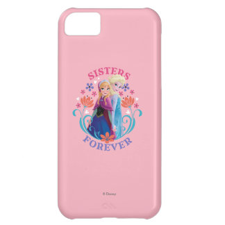 Anna and Elsa | Sisters with Flowers iPhone 5C Cases