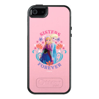 Anna and Elsa | Sisters with Flowers OtterBox iPhone 5/5s/SE Case