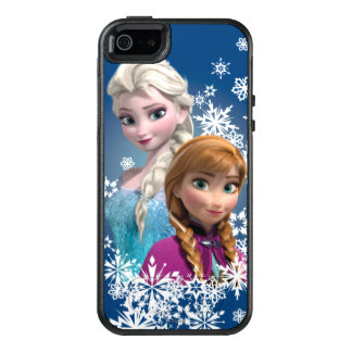 Anna and Elsa | Snowflakes OtterBox iPhone 5/5s/SE Case