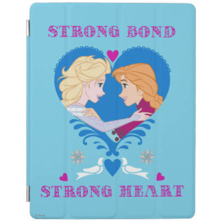 Anna and Elsa | Strong Bond, Strong Heart iPad Cover