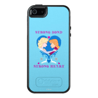 Anna and Elsa | Strong Bond, Strong Heart OtterBox iPhone 5/5s/SE Case