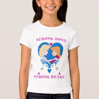 Anna and Elsa   Strong Bond, Strong Heart T-Shirt