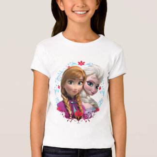 Anna and Elsa   Strong T-Shirt
