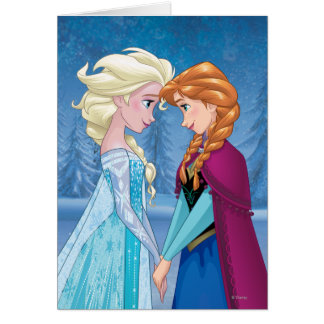 Anna and Elsa | Together Forever Greeting Card