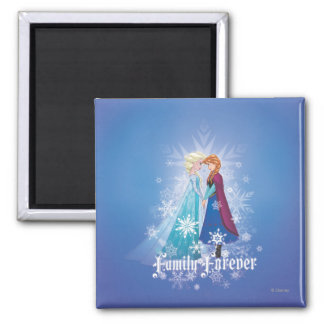 Anna and Elsa | Together Forever Magnet