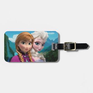 Anna and Elsa | Together Luggage Tag