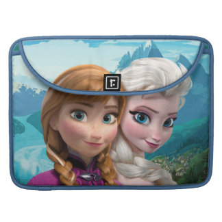Anna and Elsa | Together Sleeve For MacBooks
