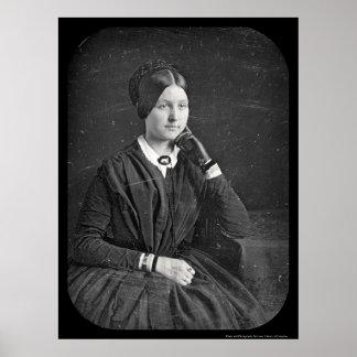 Anna Baker Daguerreotype 1846 Poster